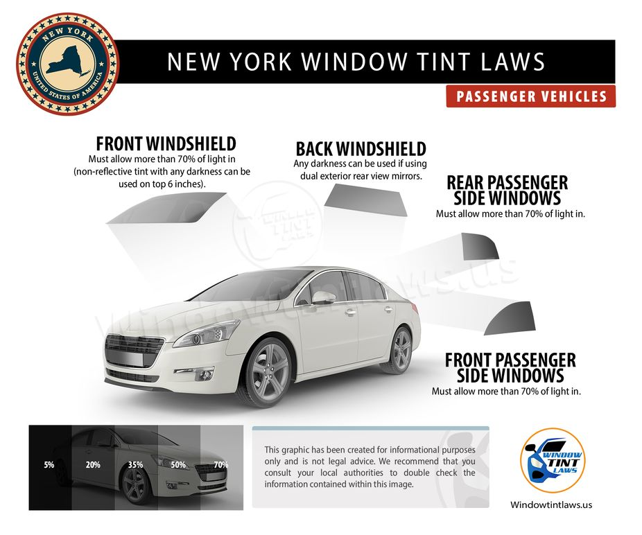 new york tint laws passenger