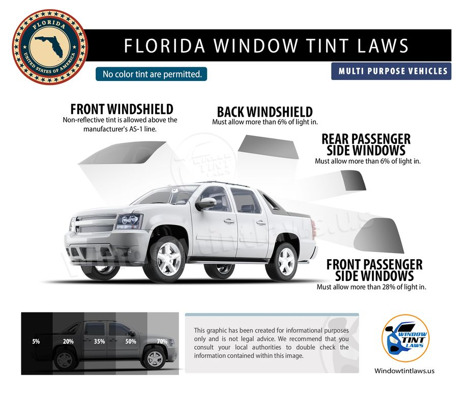 tint laws in florida