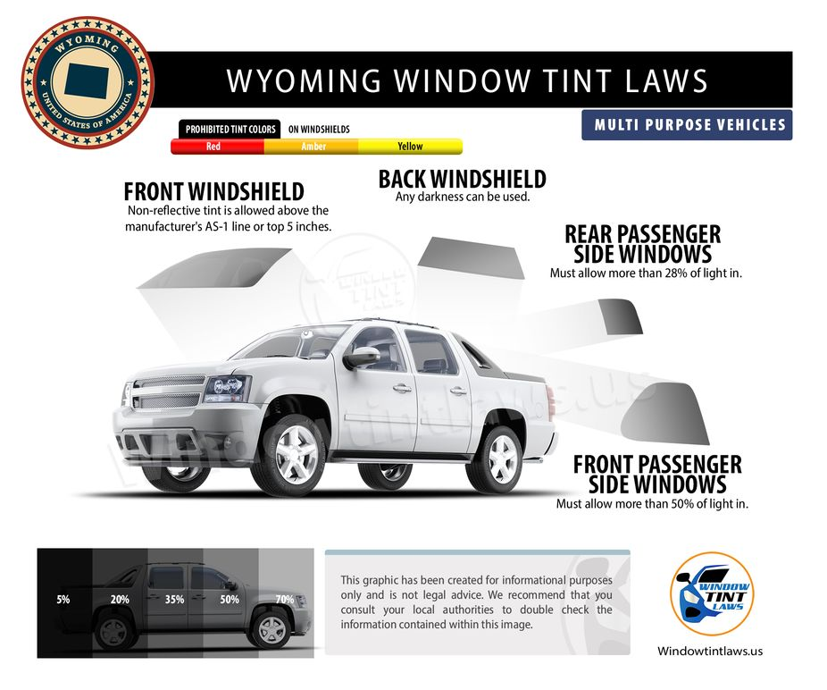 tint laws in wyoming