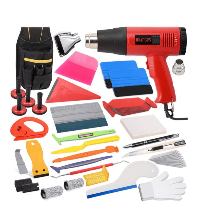 newishtool vinyl wrap window tinting tool kit