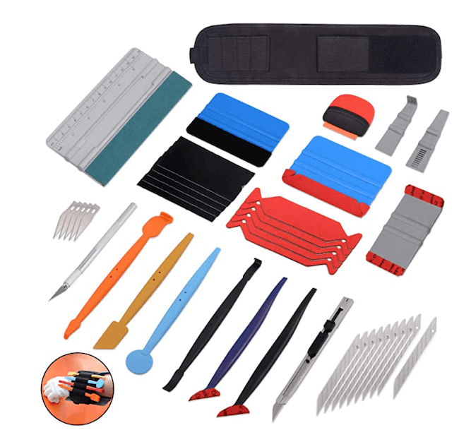 window tint tool set squeegee micro magnet squeegee